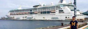 penyalur kerja di kapal pesiar